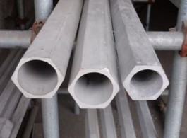 seamless stainless steel hexagonal pipe