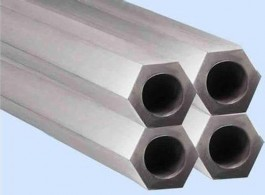 stainless steel hexagonal shape steel piping