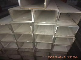 304 316 square welded stainless steel tube