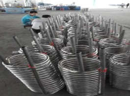 seamless stainless steel tubing for heat exchanger