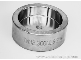 High Pressure Forged Stainless Steel Socket Pipe Caps