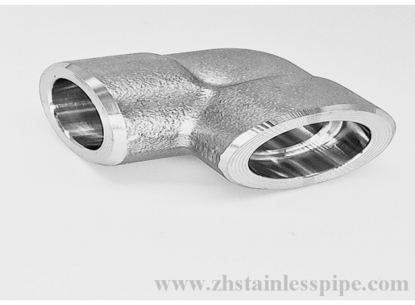 High pressure Forged Socket 90 Degree Elbow