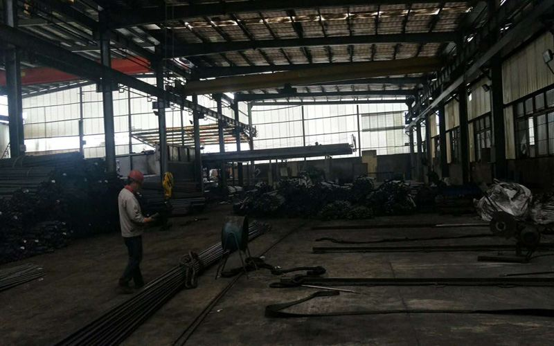 Raw material pipe ready