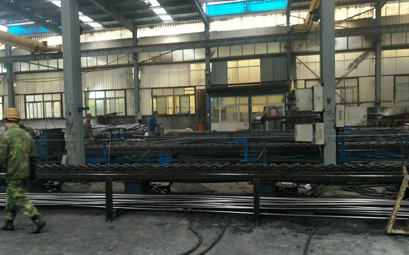 stainless steel pipe cold draw and cold roll workshop