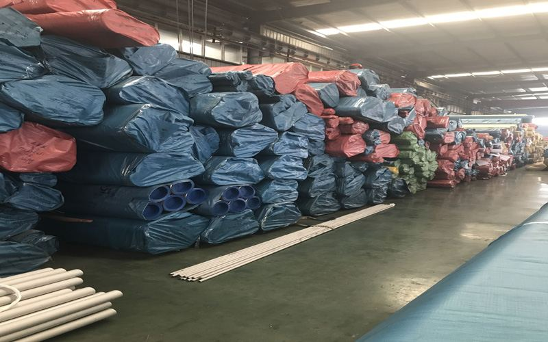seamless stainless steel pipe stocked