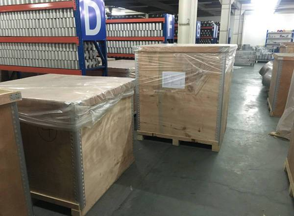 stainless steel pipe fittings wooden crate packing
